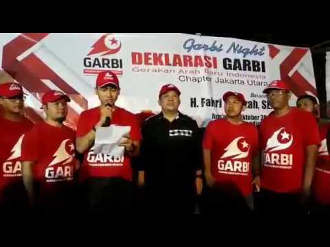 PETJAAAHHHH! Deklarasi Garbi Chapter Jakarta Utara