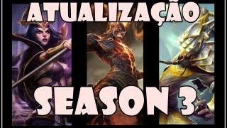Atualização League Of Legends Season 3 PBE [PT-BR]