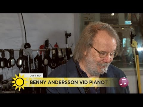 BENNY ANDERSSON VID PIANOT (2017)
