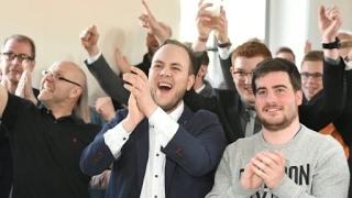 حزب المستشارة الألمانية أنغيلا ميركل يوجه صفعة لمنافسه الاشتراكي