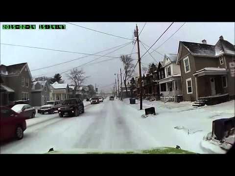 Driving through Newark OH