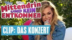 MITTENDRIN UND KEIN ENTKOMMEN - Clip: Das Konzert | Disney Channel