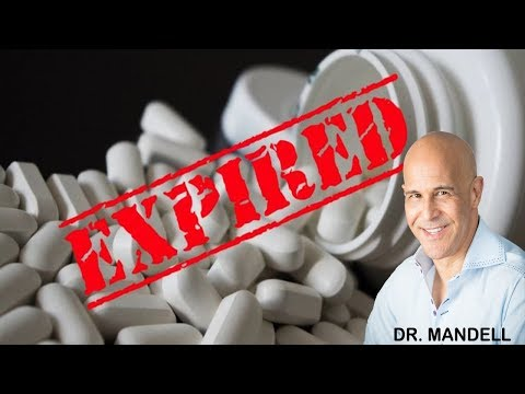 YOUR VITAMINS EXPIRATION DATE DOESN'T MEAN WHAT YOU THINK Dr Alan Mandell, DC