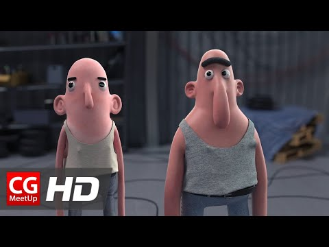 "CGI Animated Short Film HD: ""Fuel Short Film"" by Camille Jalabert"