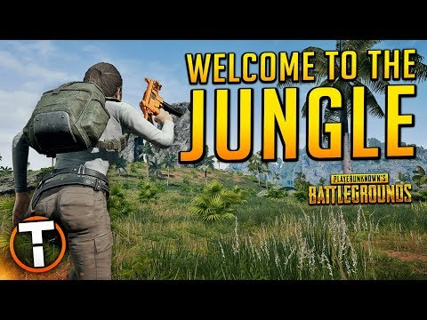 WELCOME TO THE JUNGLE! - PLAYERUNKNOWN'S BATTLEGROUNDS (PUBG SAVAGE MAP)