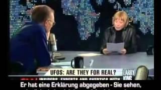 Teil 3  Larry King  UFO debate  The UFO Coverup