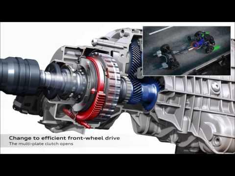 Audi Quattro Ultra, nuevo sistema de tracción total