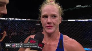 Holly Holm ends 3-fight losing streak