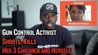 Gun Control Activist Shoots, Kills Her 3 Children and Herself