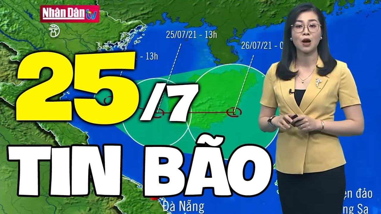 Download Dự báo thời tiết hôm nay và ngày mai 25/7 | Dự báo thời tiết đêm nay mới nhất