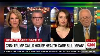 President Trump calls the Health Care Bill Mean