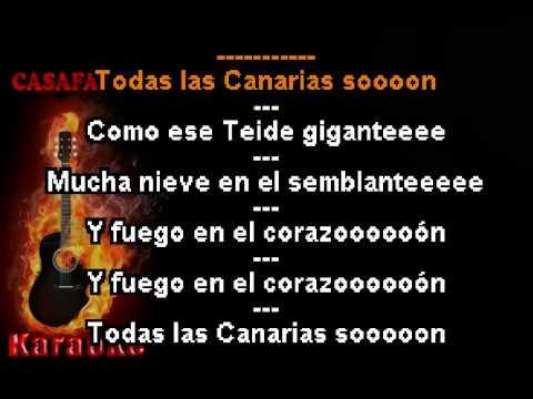 Isa Canaria - Palmero sube a la Palma (Karaoke Popurri) DEMO