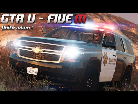GTA 5 - Law Enforcement Live - Unité adam ! (Five M)