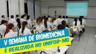 V SEMANA DE BIOMEDICINA FOI REALIZADA COM MINICURSOS E PALESTRAS