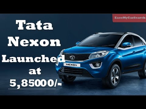 Tata Nexon Price Compact SUV Launched in India for Rs 5.85 Lakhs