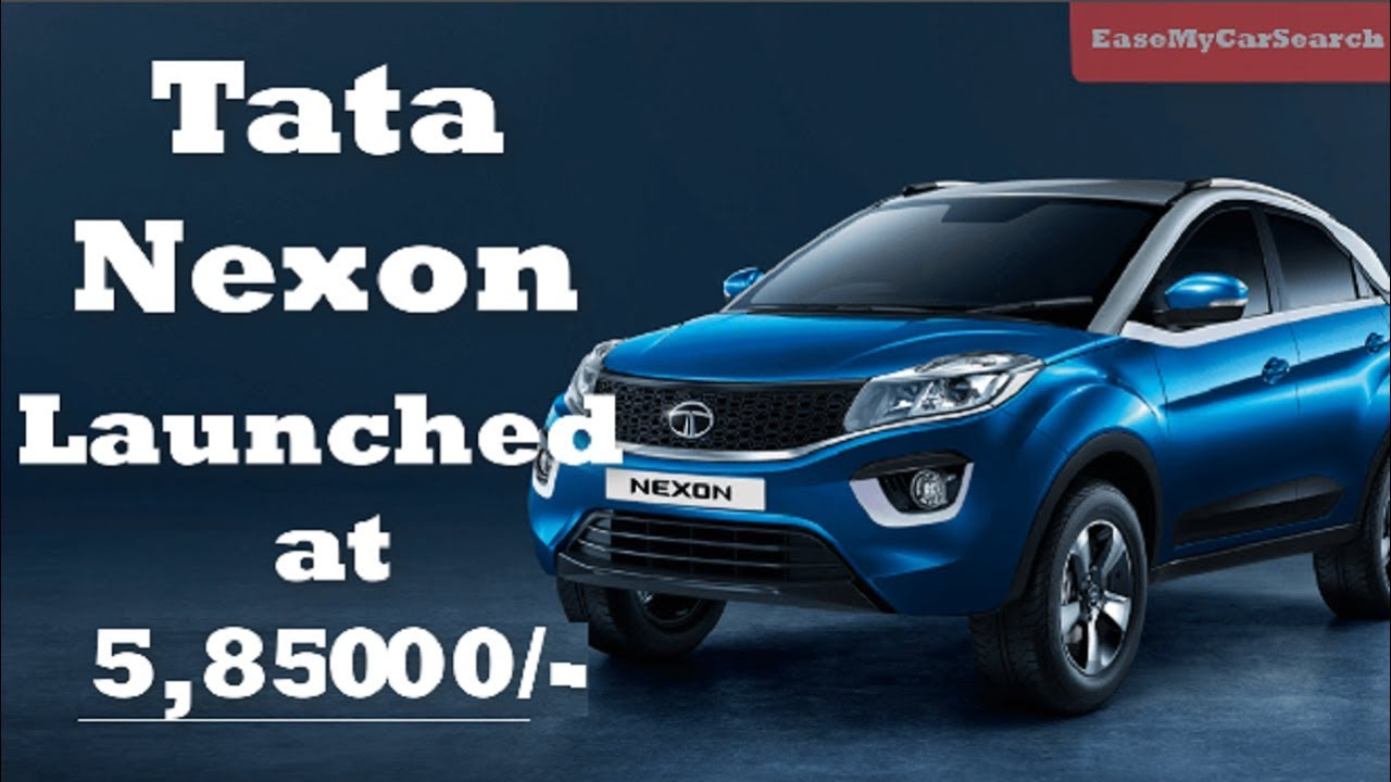 Tata Nexon Price Compact Suv Launched In India For Rs Lakhs