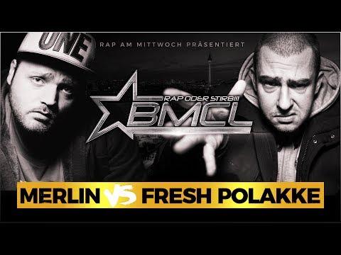 BMCL RAP BATTLE: MERLIN VS FRESH POLAKKE (BATTLEMANIA CHAMPIONSLEAGUE)