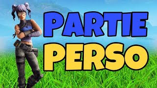 LIVE PARTY PERSO FORTNITE WITH YOU CODE CREATEUR: BLX