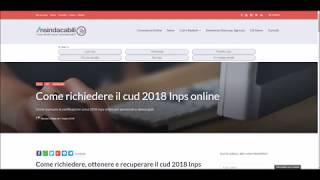 Certificazione unica 2018 Inps online: come richiederla?