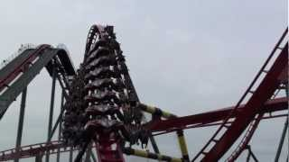 X-Flight off-ride HD Footage - Six Flags Great America 2012