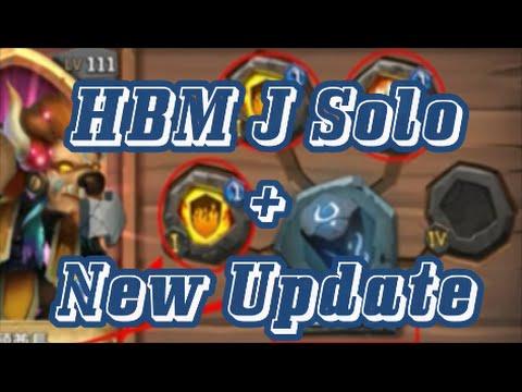 Castle Clash Vlad Dracula HBM J Solo + New Update Information