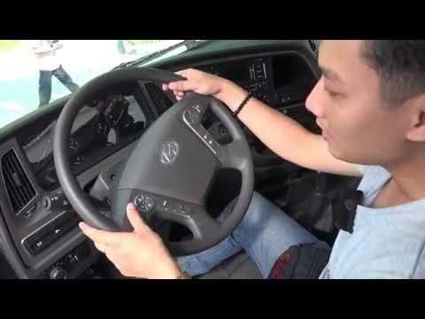 VMS 2016 Xem th xe ben Hyundai Xcient 20 tn, ni tht tin nghi nh xe con