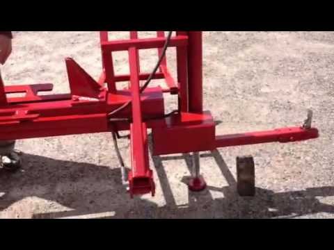 Customized Splitfire Log Splitter