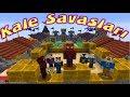 MiNECRAFT'TA KALE SAVAŞLARI ( Yeni Yarışma Örümcek Köyü Sakinleri ile)