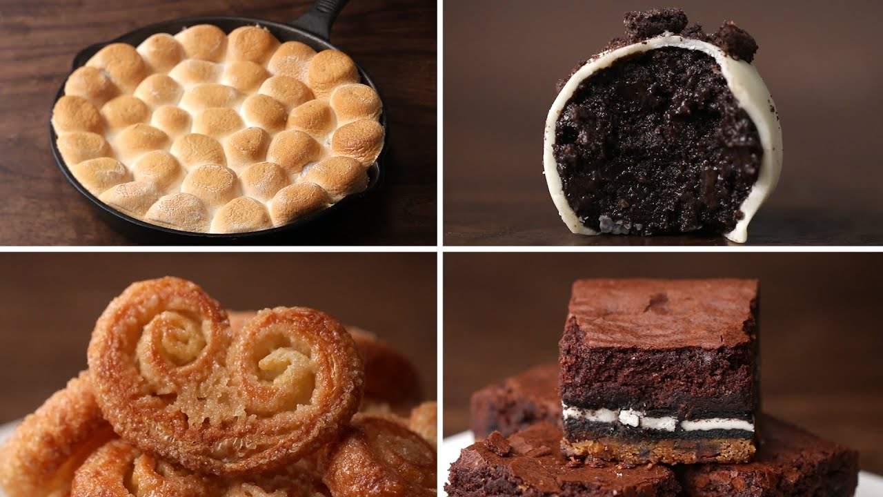 4 Easy 3 Ingredient Desserts