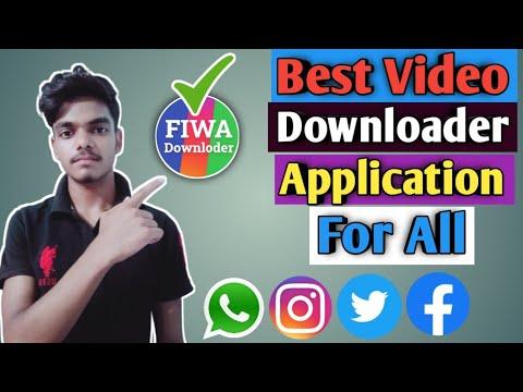 Best Video Downloader App For Instagram, Facebook, Twitter, Whatsapp | Fiwa All Video Downloader
