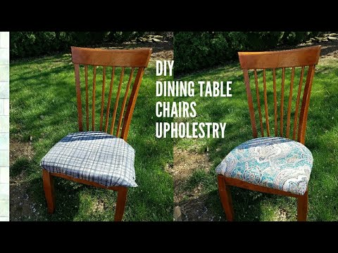 How to reupholster dining chairs😊●DIY DINNER CHAIRS●NO SEW● CHAIR UPHOLSTERY |Ruralafrican Shop