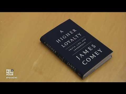 James Comey memoir paints scathing portrait of Trump, rousing GOP furor