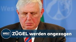 WELT DOKUMENT: Gesundheitsminister Laumann verkündet das Comeback des Lockdown in NRW