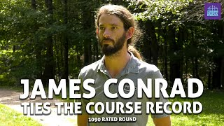 James Conrad Ties the Course Record 48(-13) at Brewster Ridge (1090 RATED DISC GOLF ROUND)