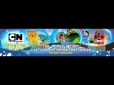 Cartoon Network Amazone Theme Water Park, Pattaya, Thailand