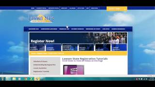 Website Orientation for Students (Lawson State)