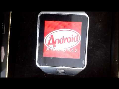Hodinky QW09 OS Android 4.4 - 512MB/4GB - 3G BT Wifi CZ part 1.