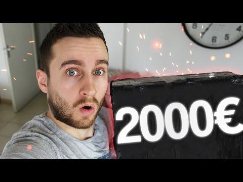 J'OUVRE UN COLIS A 2000€ !!