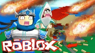 Survivre dans Roblox Natural Disaster Survival Game FR