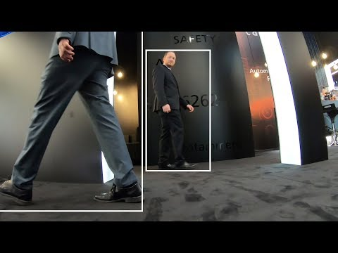 AI-based Pedestrian Detection powered by Cadence Tensilica