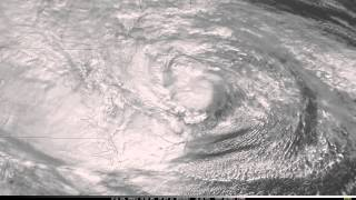 Hurricane Sandy SRSOR Movie: 2012-Oct-29 (Full daylight, updated version)