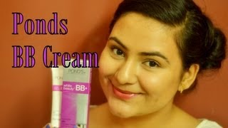 Ponds BB cream review and demo , India