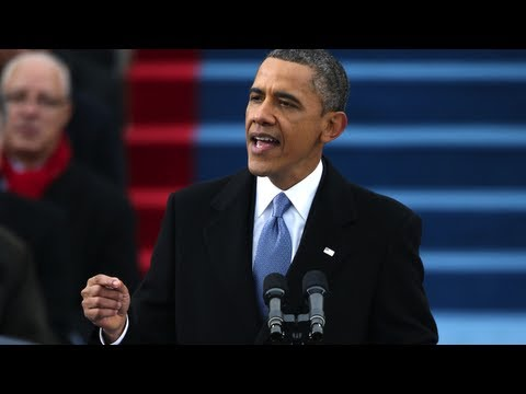 """""""All Men Are Created Equal"""" - Key Moments From President Obama's 2013 Inaugural Address"""