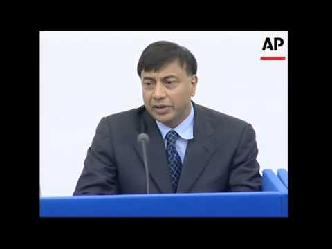 Steel tycoon Lakshmi Mittal raises offer for rival Arcelor, pledges no job cuts