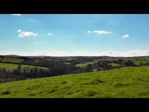 3 Hour Relaxing Video of Beautiful Devon Countryside