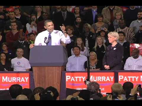 President Obama on Patty Murray