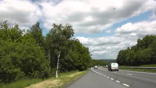 Driving Along The A38 From Plymouth To M5 Motorway Junction 31…