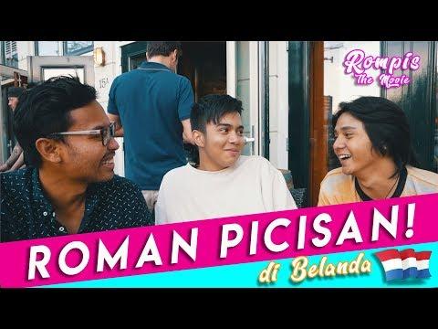 SERUNYA PROSES SHOOTING FILM ROMAN PICISAN DI BELANDA!   REZZVLOG