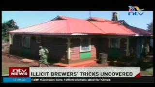Nyamira police discover brewers' new ways of evading crackdowns