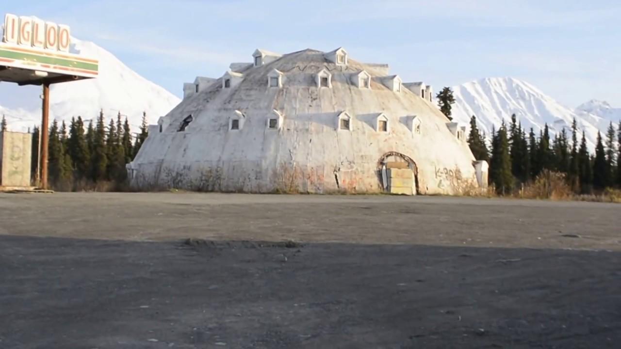 IGLOO HOTEL In Alaska (Abandoned)